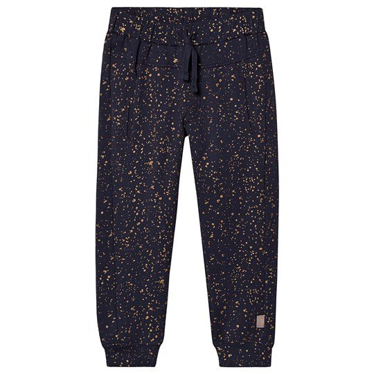 Creamie Gold Print Sweatpants Total Eclipse Total Eclipse