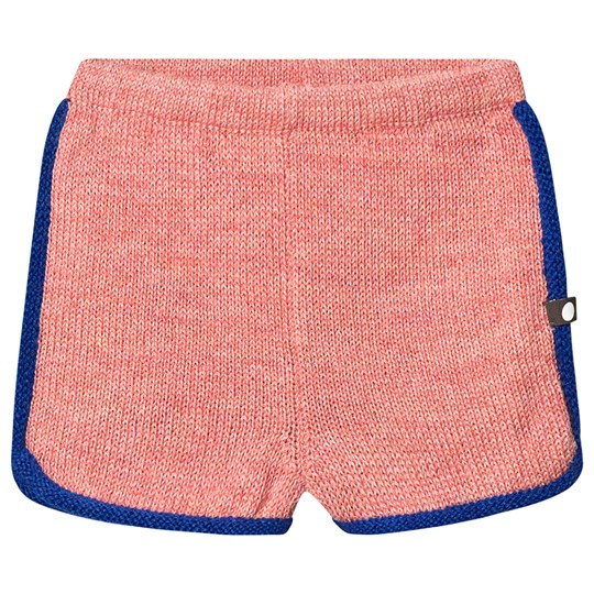 Oeuf 70's Shorts Peony and Electric Blue Peony/Electric Blue