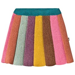 Oeuf Everyday Skirt Apricot and Multi