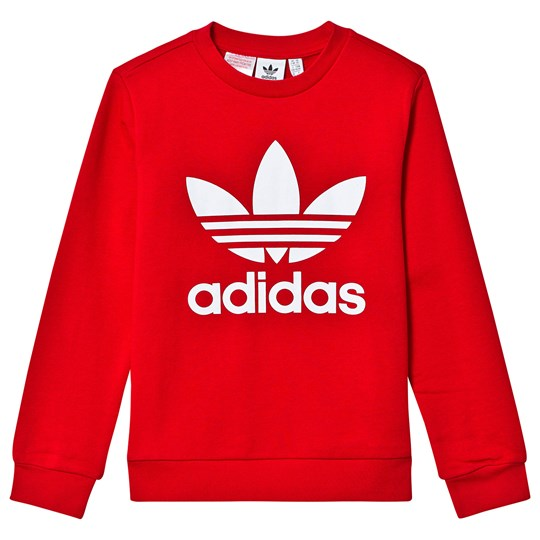adidas Originals Trefoil Sweatshirt Red SCARLET/WHITE