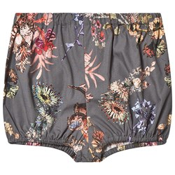 Christina Rohde Baby Shorts Grey Flower
