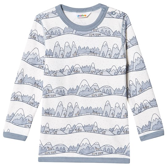 Joha Mountains Tee Blue MountainsB