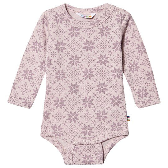 Joha Snow Flake Baby Body Pink Snow Crystal