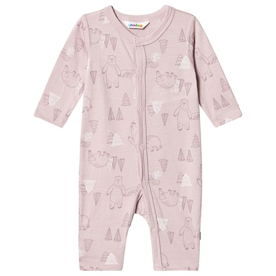 Joha Happy Bear One-Piece Pink HappyBearG