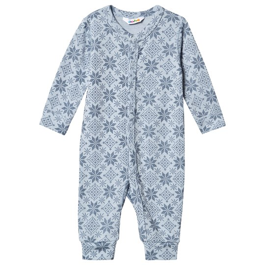 Joha Snow Flake One-Piece Blue Snow Crystal