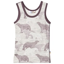 Joha Polar Bear Tank Top Purple