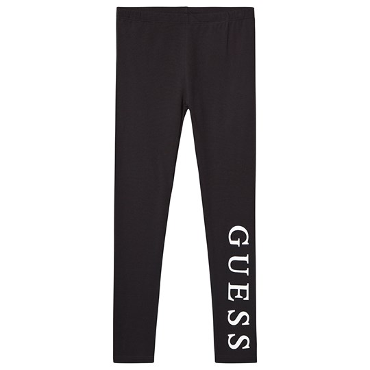 Guess Branded Leggings Black JBLK