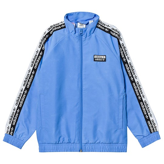 adidas Originals V-Ocal Double Logo Track Jacket Blue Real Blue