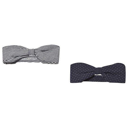 Petit Bateau Set of 2 Bandeau Headbands Navy variante 1