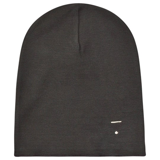 Gray Label Beanie Nearly Black Nearly Black