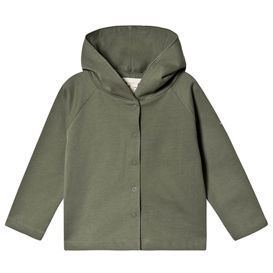 Gray Label Relaxed Hooded Cardigan Moss Moss