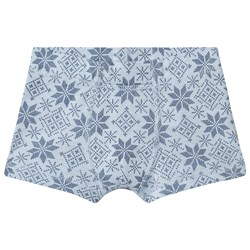 Joha Snow Flake Boxers Blue
