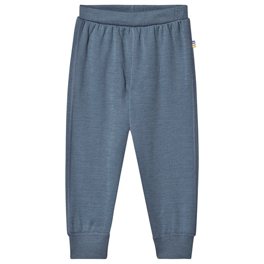 Joha Wool Pants Blue China Blue