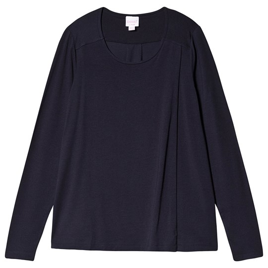 Boob Swagger Long Sleeve Top Midnight Blue Midnight Blue
