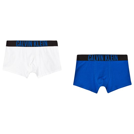 Calvin Klein 2 Pack of Trunks Blue/White 0LD