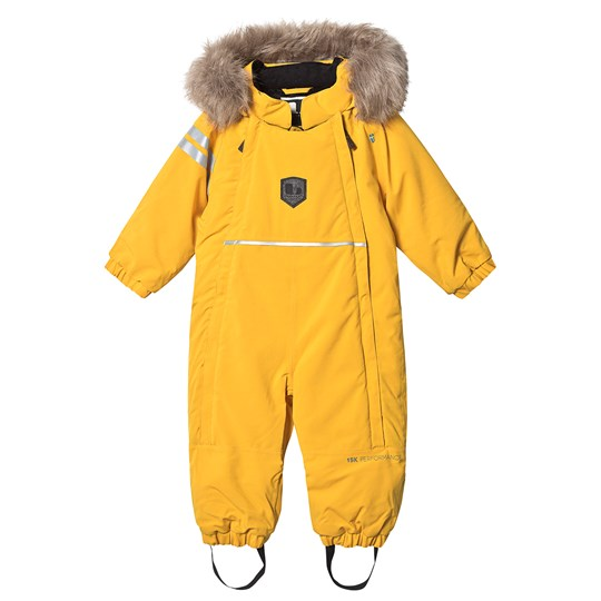 Lindberg Colden Baby Snowsuit Yellow Yellow