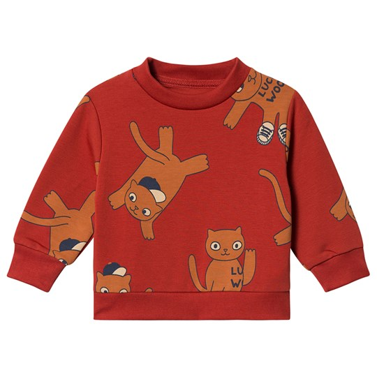 Tinycottons Cats Sweatshirt Dark Brown/Brown Dark Brown/Brown