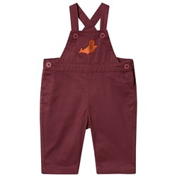 Tinycottons Seal Overalls Aubergine