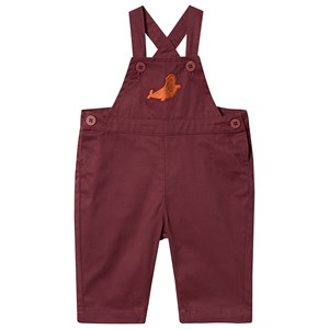 Image of Tinycottons Seal Overalls Aubergine 6 Months (1463985)