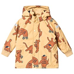 Tinycottons Cats Snow Jacket Sand/Brown