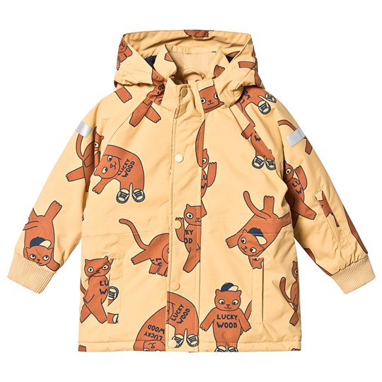 Tinycottons Cats Snow Jacket Sand/Brown Sand/Brown