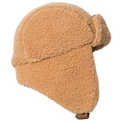 Tinycottons Sherpa Chapka Hat Brown