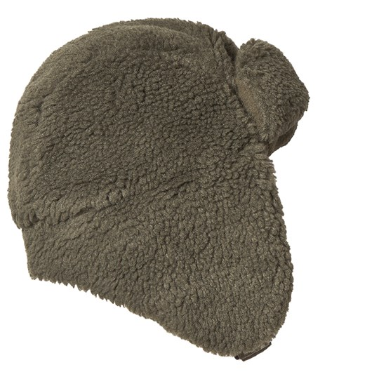 Tinycottons Sherpa Chapka Hat Green Wood Green Wood