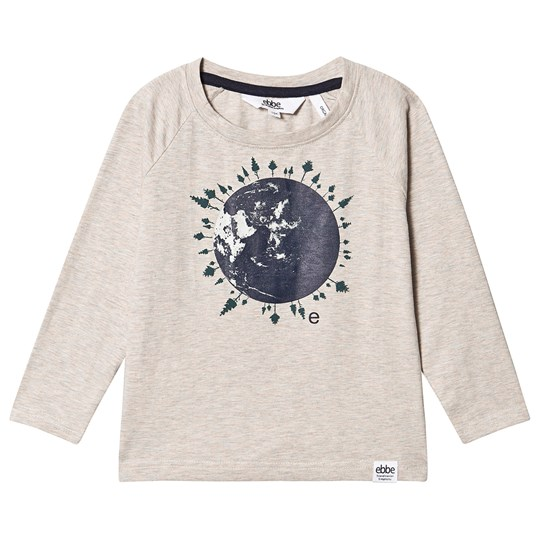 ebbe Kids Ivo Langermet T-skjorte World Forest Print World Forest Print