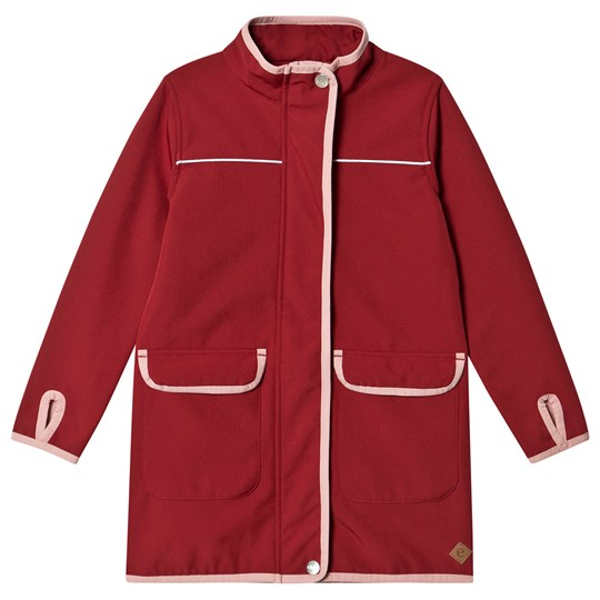 ebbe Kids Dacian Softshell Jacket Cherry Red Cherry Red