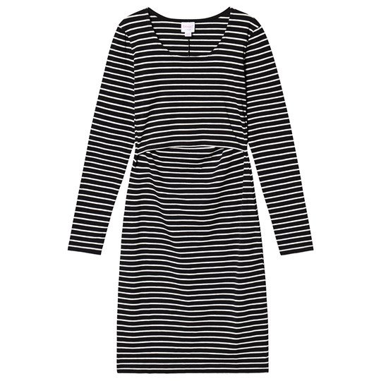 Boob Simone Long Sleeve Dress Black Tofu black/tofu