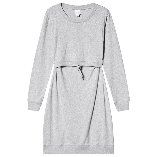 Boob B·Warmer Dress Grey Melange Grey Melange