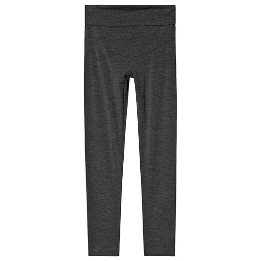 Boob Once-On-Never-Off Merino Wool Leggings Dark Grey Melange Dk Greymelange