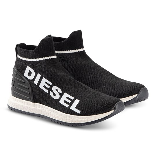 Diesel Sock Sneakers Black H5515