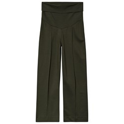 Boob Once-On-Never-Off Cropped Pants Moss Green