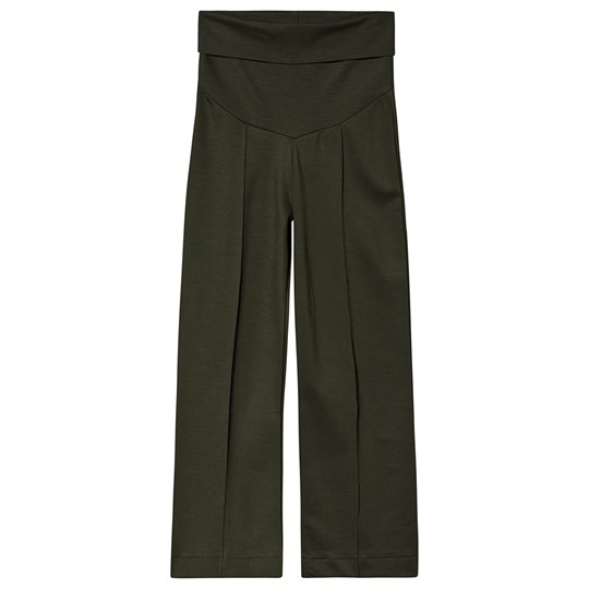 Boob Once-On-Never-Off Cropped Pants Moss Green Moss green