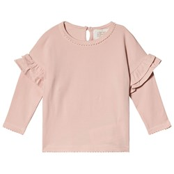 Creamie Jersey Long Sleeve Tee Rose Smoke