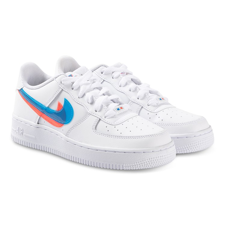 NIKE Air Force 1 Sneakers White, Blue Hero and Bright