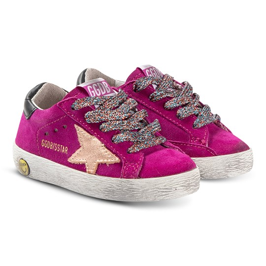 Golden Goose Superstar Sneakers Cyclamen CYCLAMINE SUEDE-LAMINATED STAR