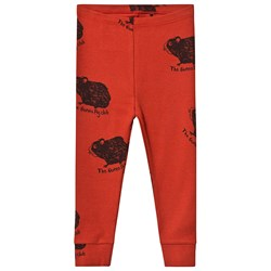 Mini Rodini Exclusive Guinea Pig Leggings Rød