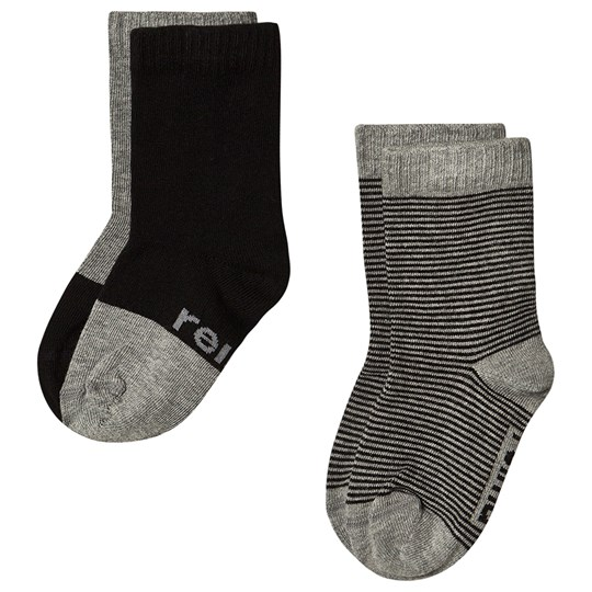 Reima 2-Pack My Day Socks Melange Grey Melange Grey