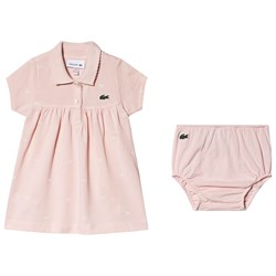 Lacoste Dress, Bloomers and Toy Gift Set Pink