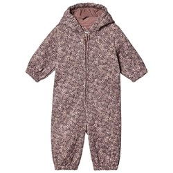 Wheat Harley Coverall Dusty Rouge Print