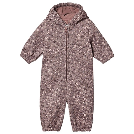 Wheat Harley Coverall Dusty Rouge Print Dusty Rouge