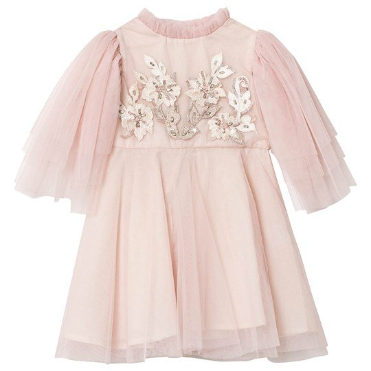 Tutu Du Monde Babette Embellished Tulle Dress Blush Blush