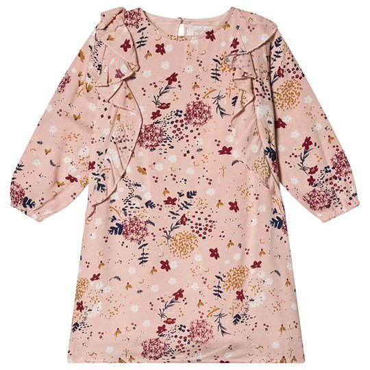 Creamie Autumn Flowers Dress Rose Smoke Rose Smoke