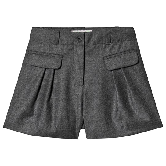 Bonpoint Wool Shorts Grey 095A