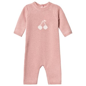 Image of Bonpoint Cashmere Kirsebær Strik One-Piece Pink 1 month (1468608)