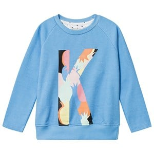Image of Kimba Kids Langærmet Logo T-shirt Blå 7-8 years (1447224)