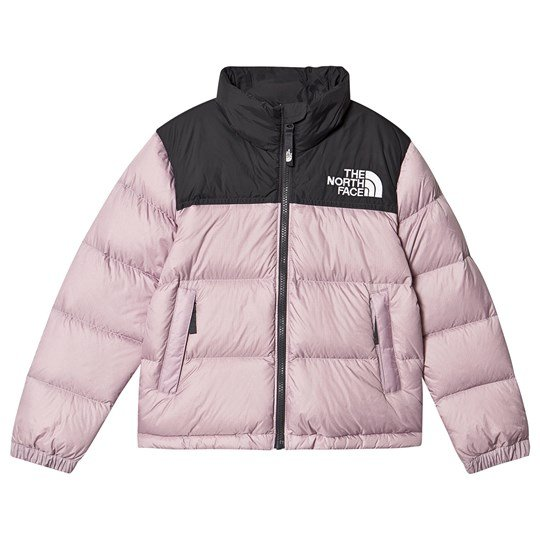 The North Face 1996 Retro Nuptse Puffer Jacket Lilac & Black D2Q
