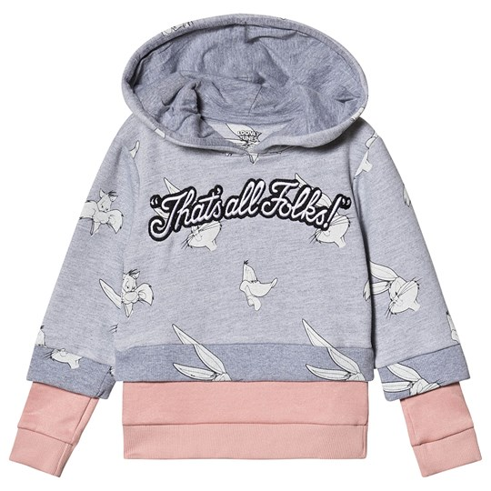 Eleven Paris That´s All Folks Hoodie Grey M03